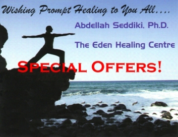 Special Offers to Promote Your Health the Natural Way at the Eden Healing Centre in Vancouver BC!