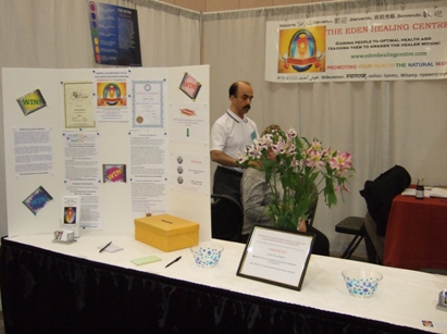 Thank you for visiting the Eden Healing Centre booth at the Vancouver Health Show.