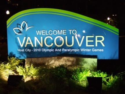 The Eden Centre is located in Vancouver BC, the host of the 2010 Winter Olympic Games.